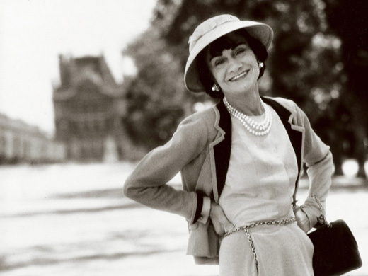Coco Chanel in 1958