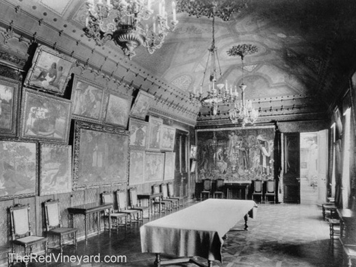 Sergei Shchukin's large dining room