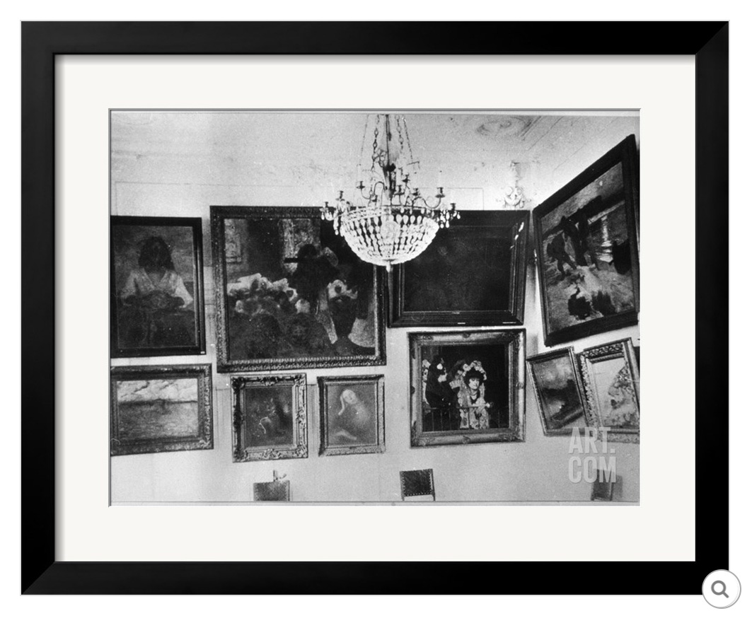 Sergei Shchukin's large dining room, Art Print